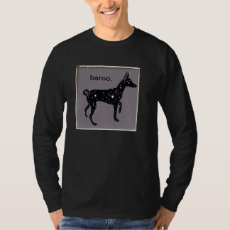 basenji baroo long-sleeve t-shirt