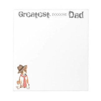 Basenji Dad Notepad