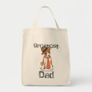 Basenji Dad Tote Bag