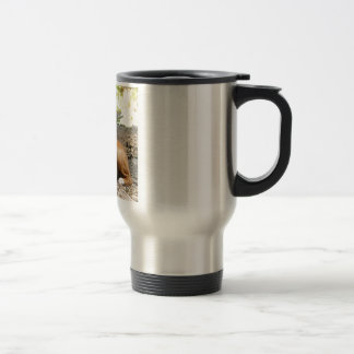 Basenji Dog Travel Mug
