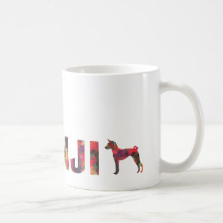 Basenji Hound Dog Colorful Graphic Multi Mug