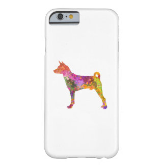 Basenji in watercolor 2 barely there iPhone 6 case