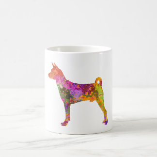 Basenji in watercolor 2 coffee mug