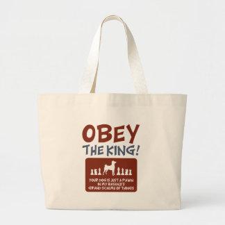 Basenji Jumbo Tote Bag