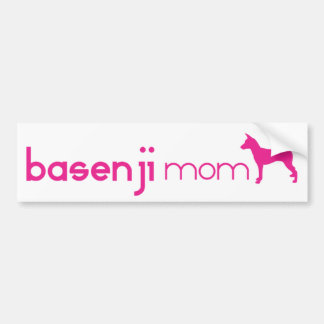 Basenji Mom Bumper Sticker