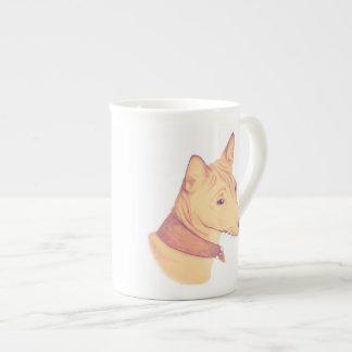 Basenji mug - bone china/porcelain