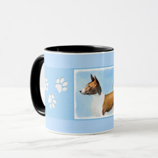 Basenji Painting - Cute Original Dog Art Mug