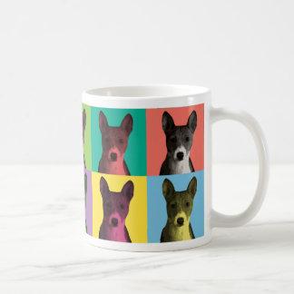 Basenji Pop-Art Coffee Cup