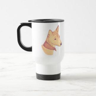 Basenji - travel mug