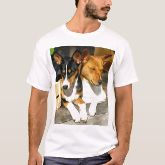 Basenji Tucson and Basja T-Shirt