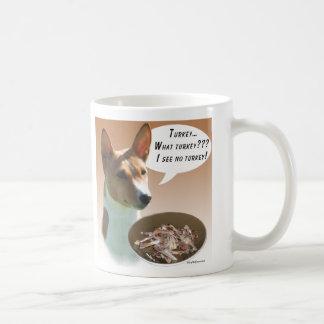 Basenji Turkey Coffee Mug
