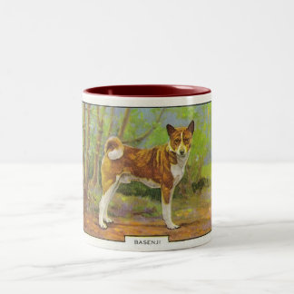 Basenji Two-Tone Coffee Mug