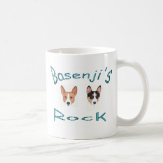 basenjis rock coffee mug