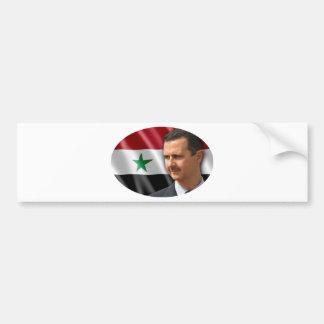 Bashar al-Assad بشار الاسد Bumper Sticker