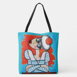 BASHFUL GIRL TOTE BAG
