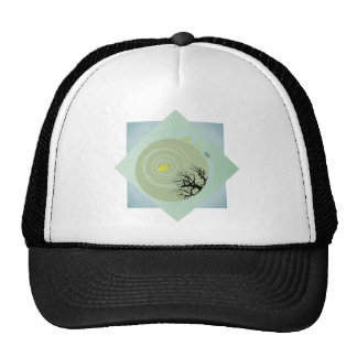 Basho's Pond Trucker Hat