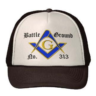 Basic 3 Color Logo Trucker Hat