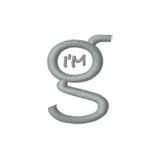 Basic Army Zip Hoodie w Grey Logo