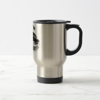 Basic Black Logo Travel Mug