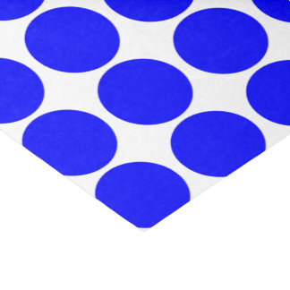 Basic Blue Polka Dot Tissue Paper