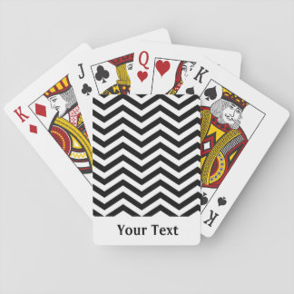 Basic Chevron Playing Cards