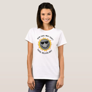 Basic Cool Eclipse Tee-white T-Shirt
