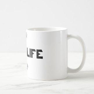 Basic cup with Bosslife. diamonds Classic White Coffee Mug