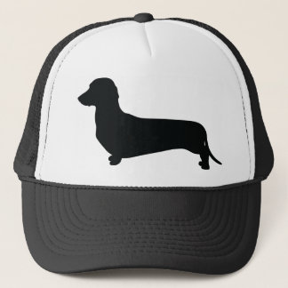 Basic Dachshund Trucker Hat