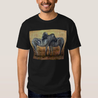 Basic Dark T-Shirt, Black Zebra image T-shirt
