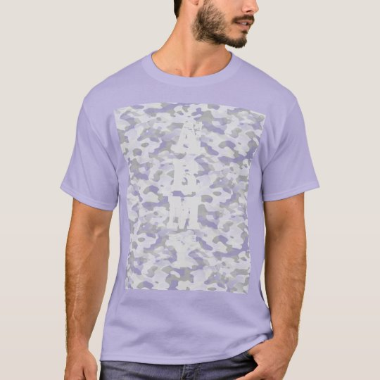 Basic dark tee-shirt for man, Camouflage T-Shirt