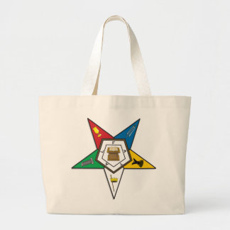 BASIC EASTERN STAR LARGE TOTE BAG