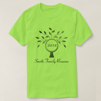 Basic Family Tree Family Reunion T-shirt
