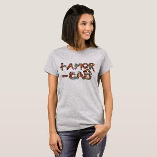 Basic Feminine t-shirt - More Love Little Dog