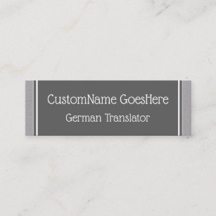language teacher business cards business card printing zazzle ca. Black Bedroom Furniture Sets. Home Design Ideas