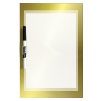 BASIC GOLD BACKGROUND DRYERASEBOARD, GOLDEN BOARD