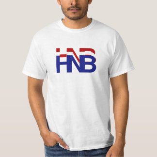 basic HNB Red White and Blue T-Shirt