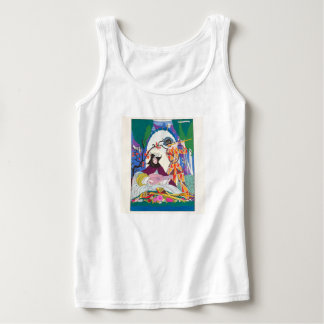 Basic Ladys Tank Top Lady and Jester Musical Duet