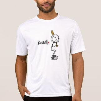 Basic Male Stick Figure Baseball T-shirts and Gift