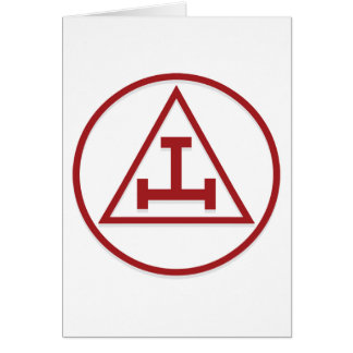 BASIC MASONIC ROYAL ARCH CARD