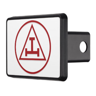 BASIC MASONIC ROYAL ARCH TRAILER HITCH COVER