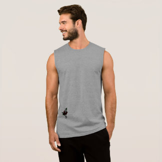 Basic Men's Sleeveless T-Shirt