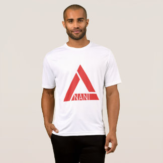 Basic Men's Tee White/Red Nani Logo