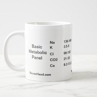 Basic Metabolic Panel Large Coffee Mug