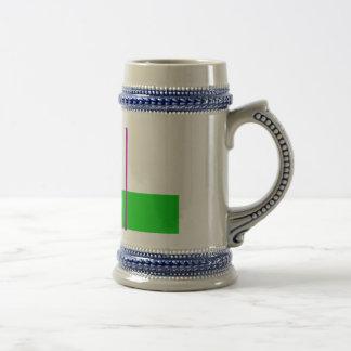 Basic Minimalism Beer Stein