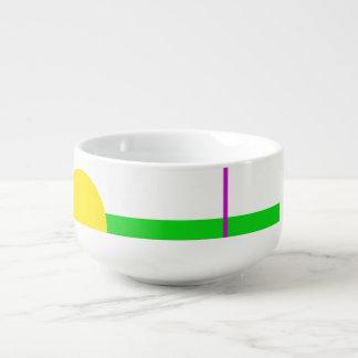 Basic Minimalism Soup Mug