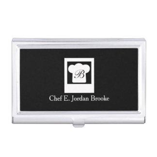 Basic Modern Chef Business Card Holder