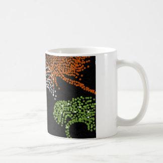 basic mug with firework design