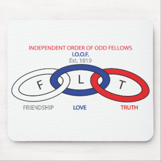 BASIC ODD FELLOWS MOUSE PAD