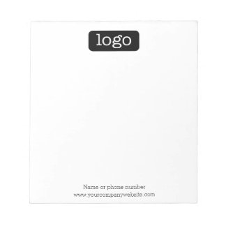 Basic Office or Business Logo or photo Notepad