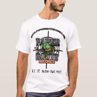 Basic Paper Route Recordz T-Shirt